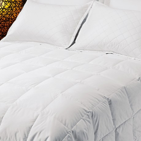 Down Inc. Midweight Premium White Duck Down Comforter California King, 600 Fill Power