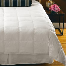 Down Inc. Premium White Duck Down Comforter - California King, Lightweight in White - Overstock