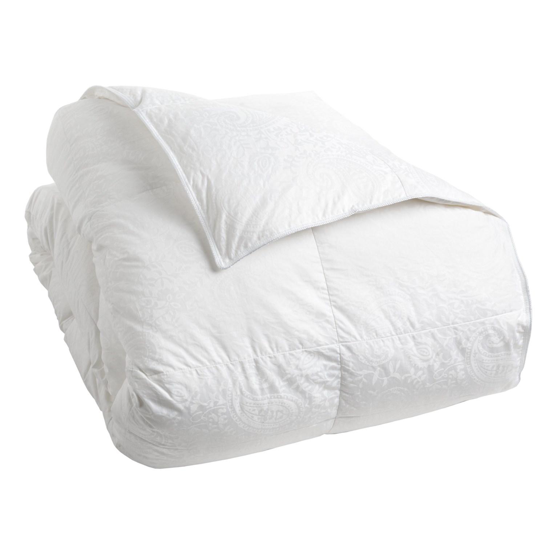 Down Comforter Queen Down Inc Premium White Duck Down Paisley Comforter