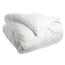 Down Inc. Premium White Duck Down Sausalito Comforter - Queen, Medium Weight in White - Closeouts