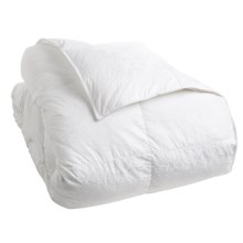 Down Inc. Primasera Down Alternative Paisley Comforter - King, Midweight in White - Overstock