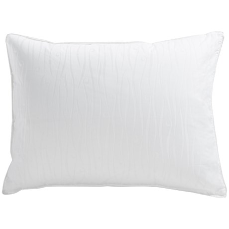 Down Inc. Sausalito Jacquard Down Pillow Standard, Firm Support