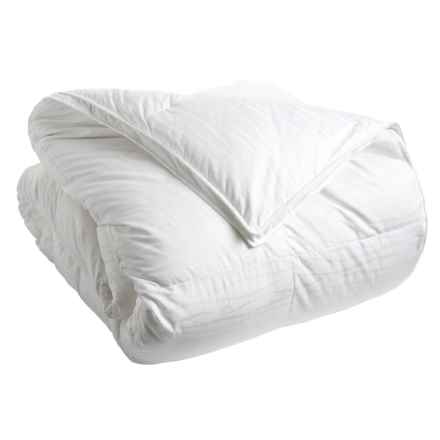 Down Inc. Sausalito Primasera Synthetic Down Alternative Comforter - Queen, 330 TC in White - Closeouts