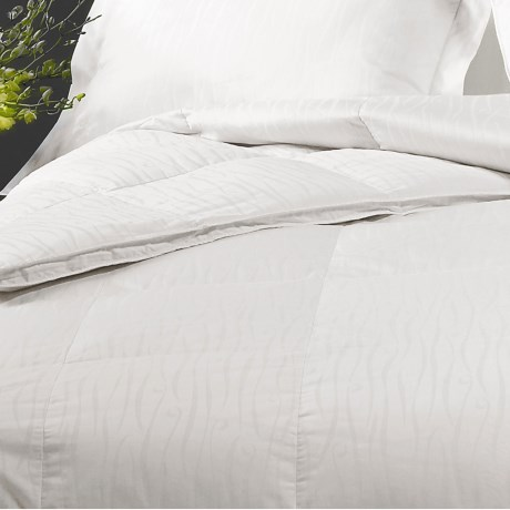 Down Inc. Sausalito White Duck Down Comforter Queen, 600 Fill Power
