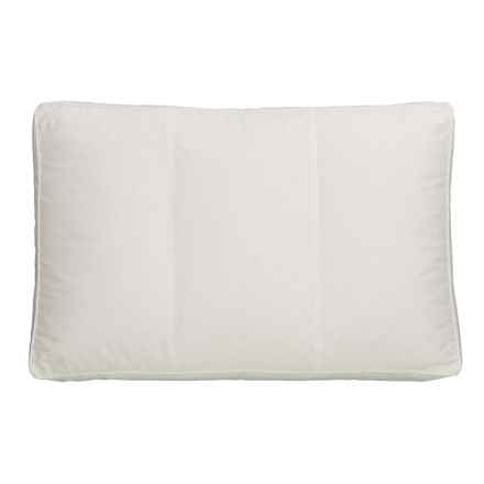 Down Inc. Triad Three-Chambered Duck Down Pillow - Standard in White - Closeouts