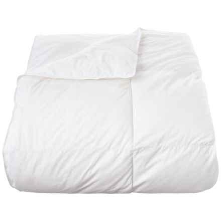 Down Inc. White Lightweight Down-Alternative Comforter - Queen, 370 TC in White