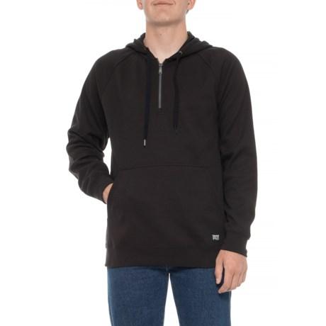 Downdraft Thermal Hoodie – Zip Neck (For Men)