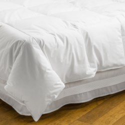 DownTown Alpine Loft Down Alternative Comforter - Super King in White