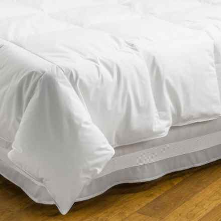 DownTown Alpine Loft Down Alternative Comforter - Super King in White - Overstock