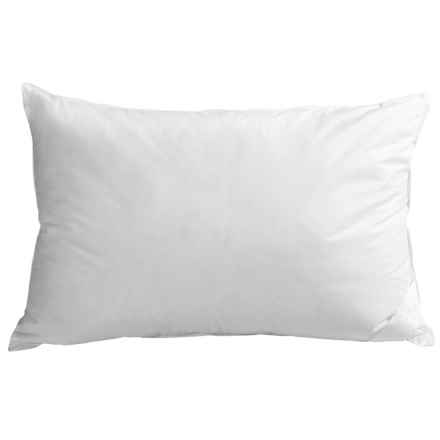 DownTown Alpine Loft Down Alternative Pillow - Standard in White - Overstock