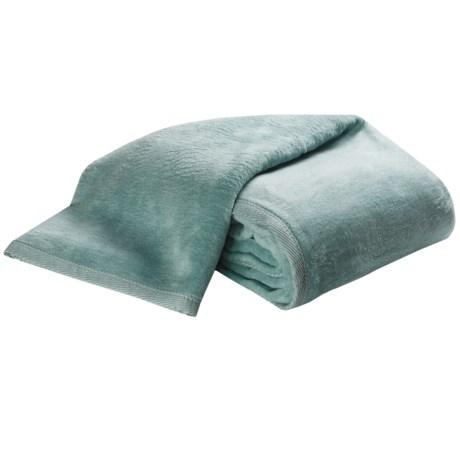 DownTown Cashmere-Soft Blanket - King in Celeste