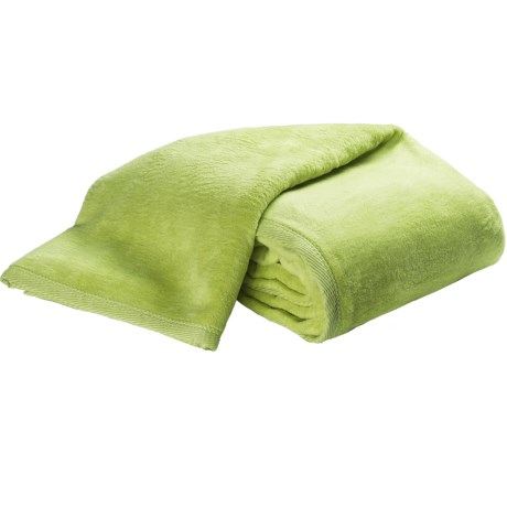 DownTown Cashmere-Soft Blanket - King in Sage