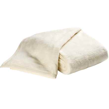 DownTown Cashmere-Soft Blanket - Queen in Cream - Overstock