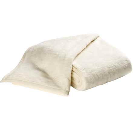 DownTown Cashmere-Soft Blanket - Queen in Cream - Overstock