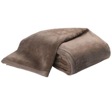 DownTown Cashmere-Soft Blanket - Queen in Laurel