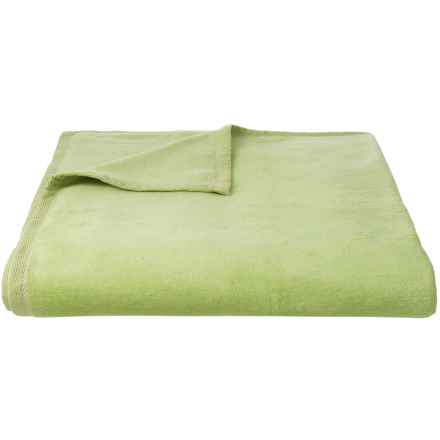 DownTown Cashmere-Soft Blanket - Queen in Sage - Closeouts