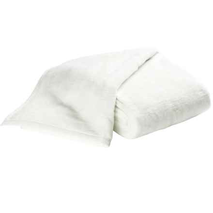 DownTown Cashmere-Soft Blanket - Queen in White - Overstock