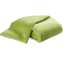 DownTown Cashmere Soft Cotton-Acrylic Blanket - Queen in Sage - Overstock