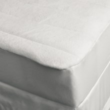 DownTown Comfort Microfiber Mattress Pad - California King in White - Overstock