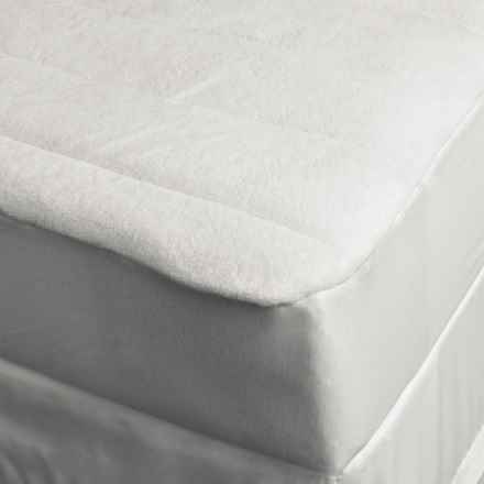 DownTown Comfort Microfiber Mattress Pad - Twin XL in White - Overstock
