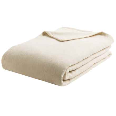 DownTown Granny Blanket - Queen, Egyptian Cotton in Ecru - Overstock