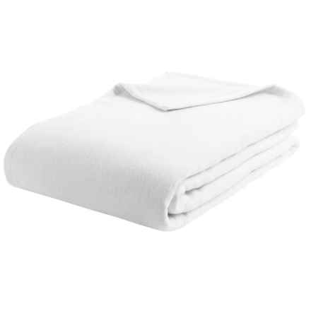 DownTown Granny Blanket - Twin, Egyptian Cotton in White - Overstock