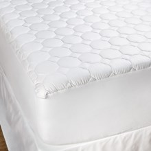 DownTown Luxury Cotton Mattress Pad - Queen in White - Overstock