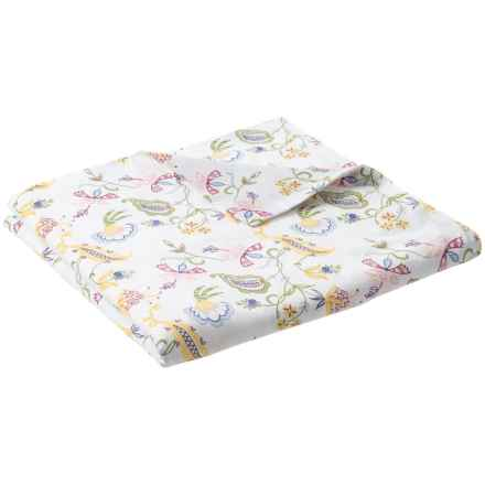 DownTown Madelyn Cotton Sateen Duvet Cover - Twin, 400 TC in Floral - Closeouts