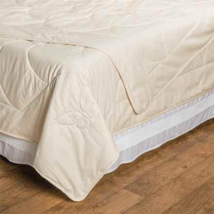 DownTown Natural Choices Silk-Filled Comforter - King in Natural - Overstock