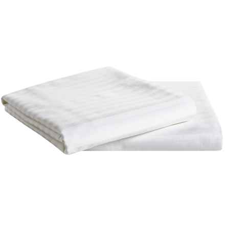 DownTown Oversized Slumber/Dorm Pillowcases - 340 TC, Set of 2 in White - Overstock