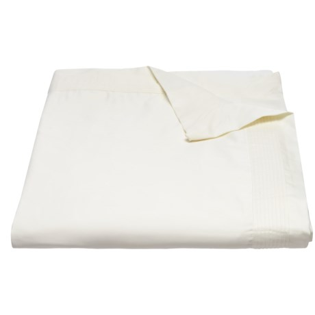 DownTown Paris II Cotton Sateen Duvet Cover - Queen, 400 TC in Ivory