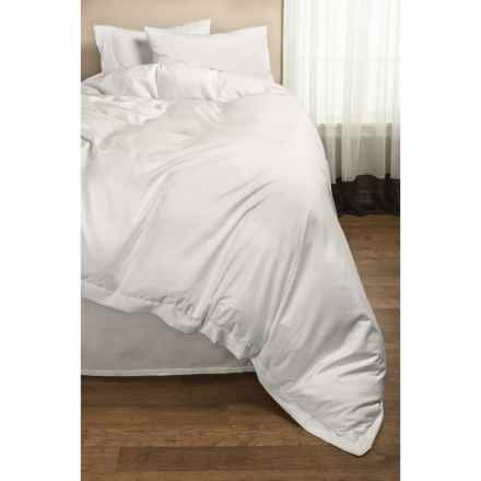 DownTown Paris II Duvet Cover - Twin, 400 TC Cotton Sateen in Ivory - 2nds