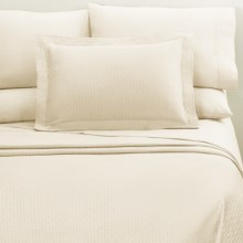 DownTown Paula Pillowcase Set - King, 400 TC Egyptian Cotton in Vanilla - Closeouts