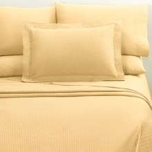DownTown Paula Pillowcase Set - Standard, 400 TC Egyptian Cotton in Butter - Closeouts