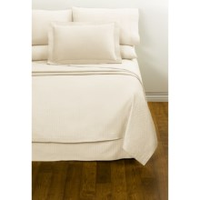 DownTown Paula Sheet Set - Full, 400 TC Egyptian Cotton in Vanilla - Closeouts
