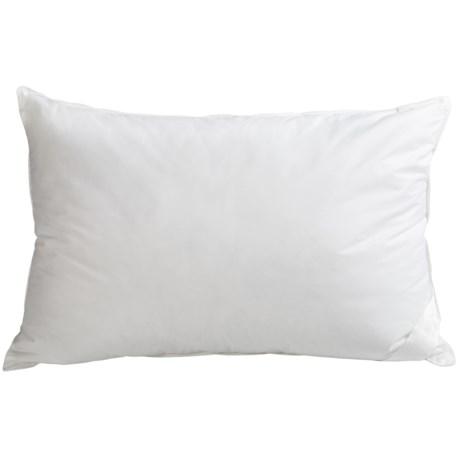 DownTown Pillow by Design Down Alternative Pillow - Queen, Soft/Medium in White