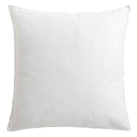 DownTown Pillow by Design Square Pillow - Euro in White - Overstock