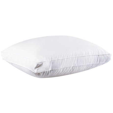DownTown Princess Alexis Siberian White Goose Down Pillow - Standard, 800+ Fill Power in White