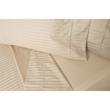 DownTown Regal II Sheet Set - Twin, 400 TC Egyptian Cotton in Taupe - Closeouts