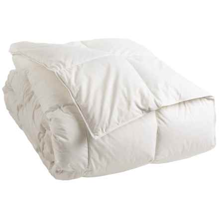 DownTown Summerfield Hungarian White Goose Down Comforter - Queen in White - Overstock