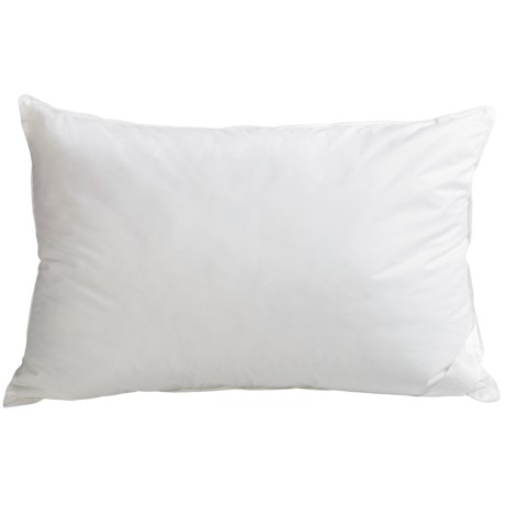 DownTown Sweet Dreams White Goose Down Pillow - Standard, 650+ Fill Power in White