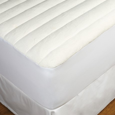 DownTown Terry-Top Comfort Mattress Pad - Twin in White