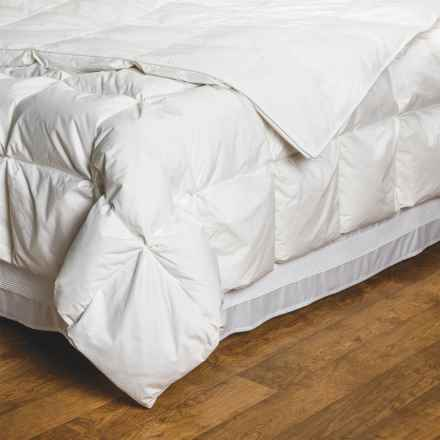 DownTown Villa Collection European White Down Comforter - Twin in White - Overstock