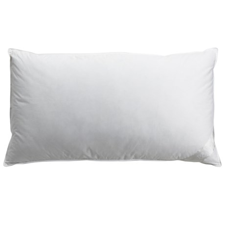 DownTown Villa Collection White Down Pillow - 600+ Fill Power, King in White