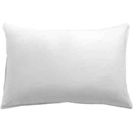 DownTown Villa European Down Pillow - Standard in White - Overstock
