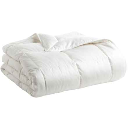 DownTown Willow Summer Comfort Siberian White Goose Down Comforter - Twin in Natural - Closeouts