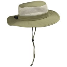 DPC Outdoor Design Big Brim Hat - UPF 50+ (For Men and Women) in Khaki - Closeouts