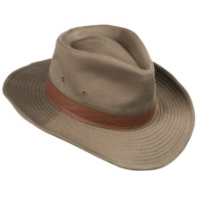 DPC Outdoor Design Outback Safari Hat - UPF 50+ (For Men and Women) in Bark - Closeouts