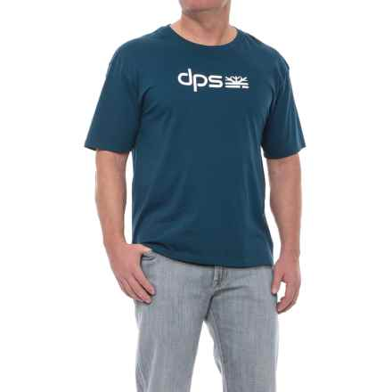 DPS Classic T-Shirt - Organic Cotton, Short Sleeve (For Men) in Blue - Closeouts