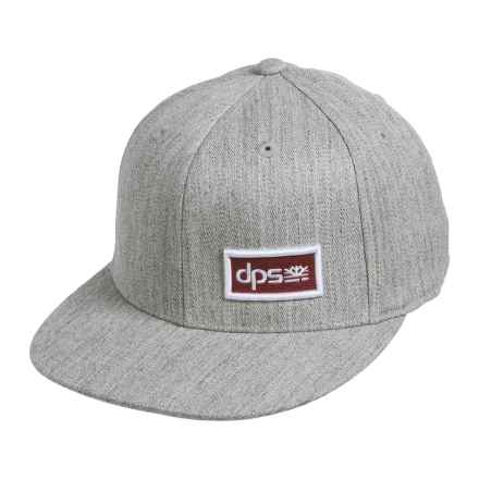 DPS Crayonix Baseball Cap - Flexfit® (For Men and Women) in Heather - Closeouts